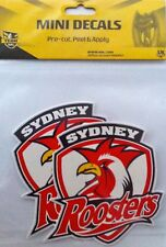 Sydney Roosters NRL Team Logo Mini Decal Stickers * 2 per packet