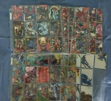 1995 Flair Marvel Annual Complete ! (base set and all inserts ) 201 total cards