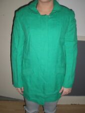 womens green vintage strelitz coat, made in ireland size 12,  a moygashel fabric