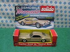 Vintage  - OLDSMOBILE  TORONADO   - 1/43  Solido serie 100  n° 150   MIB