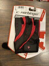 Harbinger Women's Pro Glove Wash and Dry Black/Pink (Large) 2 gloves Free Ship