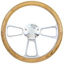 Oak Steering Wheel Kit  1960 - 1973  Volkswagen Bug Beetle Kharmann Ghia 411 412