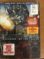 NEW Transformers: Revenge of the Fallen (2-Disc SE, DVD, 2009) 1073x