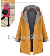 Women's Long Sleeve Pullover Hoodie Jacket Sweater Coat Hooded Jumper