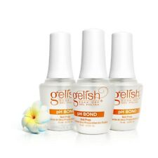 Harmony Gelish UV Gel PH Bond Nail Prep 0.5oz x 3 Bottles