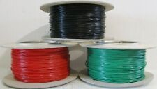 Model Railway Peco or Hornby Point Motor etc Wire 1x 30m Roll 7//0.2mm 1.4A Green