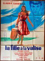 Plakat La Mädchen A La Koffer Valerio Zurlini Claudia Cardinale 120x160cm