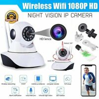 Wireless 1080P HD WiFi IP Camera 360° P2P CCTV Baby Monitor IR Night Vision NEW