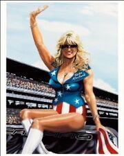 LINDA VAUGHN NHRA NASCAR  FORMULA ONE SEXY INDY 500 COLIN CARTER POST CARD