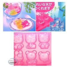 Sanrio Hello Kitty Ice Cube Rack Tray woman kids ladies 3D home kitchen ladies