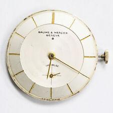 Genuine Baume & Mercier Geneve Incabloc Swiss 17 Seventeen Jewels Movement Dial