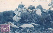 CREUSE la rigole du diable le rocher du diable timbrée 1928