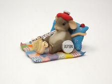 """Charming Tails - """"Friendship Is The Best Medicine"""" Mouse Figurine"""