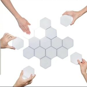 Modular LED Haptic Wall Lamp Hexagonal Magnetic. New. Fast delivery. Touch light