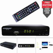Digital TV Converter Box Antenna Signal Receiver Media Recorder Player DVR HDTV