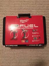 Milwaukee 4.0Ah Fuel Cordless 2pce Combo Kit 12V