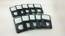 10pcs black front faceplate housing fascia case cover for ipod 6/7th gen classic