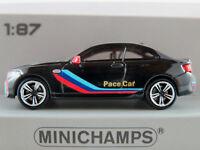 #870027001 Black//Schwarz 2016-1:87 Minichamps BMW M2