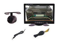 Kleine Unterbau Rückfahrkamera E306 & 7 Zoll Monitor passt für BMW