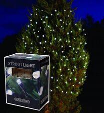 11m LED Solar Blanco Jardín Exterior Árbol de Navidad Guirnalda luces slsl3