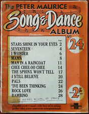 The Peter Maurice Song & Dance Album No. 24 Stars Shine In Your Eyes etc 1955