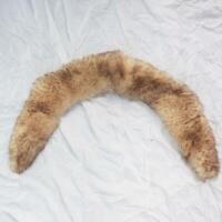 Vintage Faux Fur Fleece Vegan Long Collar