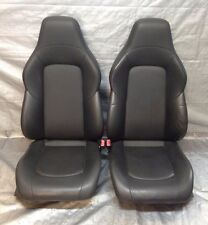 2005-2007 Chrysler Crossfire Leather Bucket Seats, Dark Slate Grey  CF006