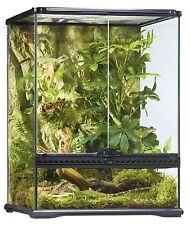 Exo Terra Glass Terrarium 18 x 18 x 24-Inch Reptile Zoo Med Natural Habitat Tall