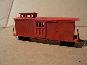 HOn30 24 foot Early Caboose with Cupola Kit by Railway Recollections