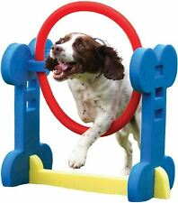 Rosewood Agility Hoop for Small Dogs - Indoor & Outdoor with Carry Bag