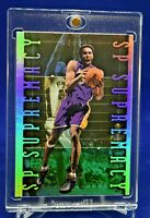 KOBE BRYANT UPPER DECK SP AUTHENTIC SUPREMACY REFRACTOR LOS ANGELES LAKERS
