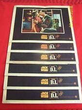 "1957 VINTAGE ORIGINAL ""JACK WEBB, THE D.I."" Movie Lobby Cards(Set of six) 57/319"
