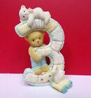 Cherished Teddies to Cherish Age 3 Three 3rd Birthday Teddy Figurine