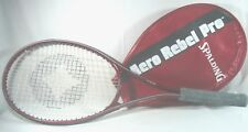 Spalding Aero Rebel Pro Tennis Racquet Grip 4 3/8 Wide Body Shaft With Cover