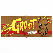 Guardians of the Galaxy Groot Anime Coin Wallets Bifold Short Purse Gift