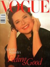 Vogue Italia Magazine 6/2012 fashion women FEELING GOOD ISABELLA ROSSELLINI