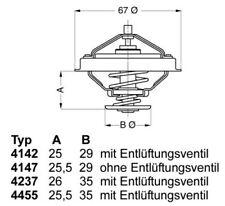 Thermostat für VW BORA,EOS,GOLF IV V,MULTIVAN,PHAETON,SHARAN,TOUAREG