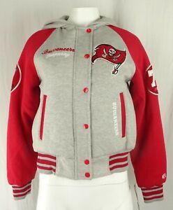 Tampa Bay Buccaneers NFL Team Apparel Women's Varsity Jacket