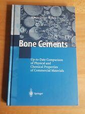 Bone Cements - Kühn Springer Fachbuch Lehrbuch Knochenzement Orthopädie Medizin