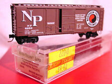 MTL 22040-3 NORTHERN PACIFIC 40' Plug/Slider Box Car'SCENIC ROUTE' #8289 N-SCALE
