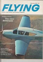 Flying Magazine New Bellancas & Jetcopters February 1967 Piper Plane AD