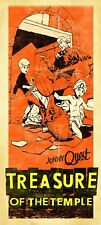 Jonny Quest Treasure Of The Temple Limited Edition Giclee Print Signed