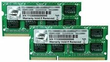BRAND NEW G.Skill 8GB (2x4GB) PC3-10600 1333MHz DDR3 Laptop Memory