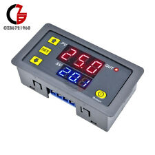 12V Digital Thermostat Timing Delay Relay Module 0-999 hours w/ LED Dual Display