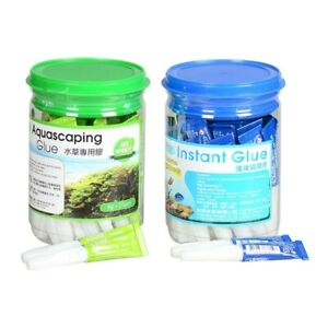 Aquarium accessories high quality Instant Glue marine tank & fresh/plant/Stone 5