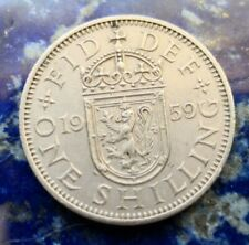 More details for 1959 scottish elizabeth i shilling #132