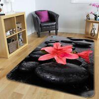 3D Stone Flowers 577 Non Slip Rug Mat Room Mat Quality Elegant Photo Carpet AU