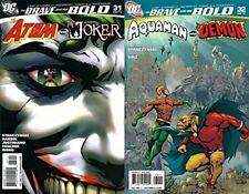 The Brave and the Bold #31-32 Volume 3 (2007-2010) DC Comics - 2 Comics