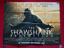 THE SHAWSHANK REDEMPTION * 1994 ORIGINAL MOVIE POSTER SUBWAY ADVANCE 45x60 RARE