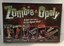 Zombie-Opoly - Halloween Monopoly Board Game - Late For The Sky - New Sealed